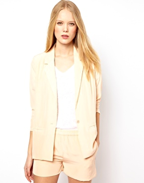 American Vintage Soft Blazer In Shell