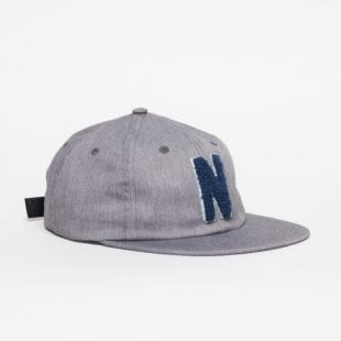 校园风?Norse Projects Chenile flat cap