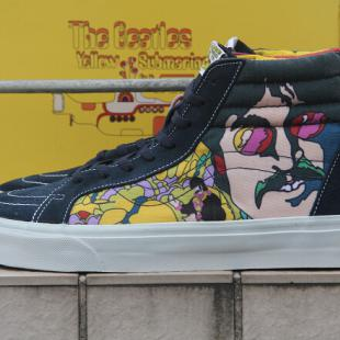Vans sk8 hi The Beatles Yellow Submarine 黄色潜水艇